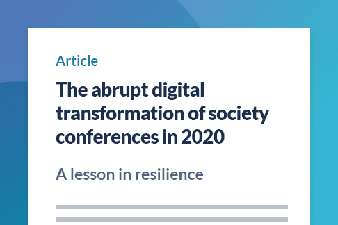 Article: The abrupt digital transformation of society conferences in 2020